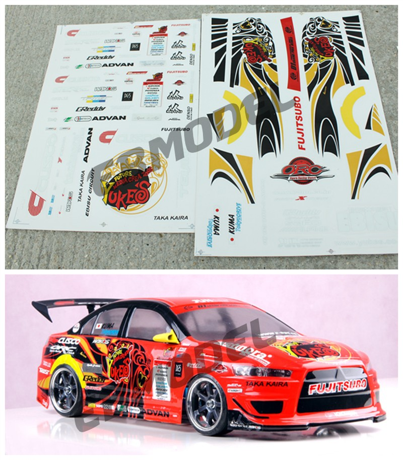 Stickers For Rc Cars Kamos Sticker
