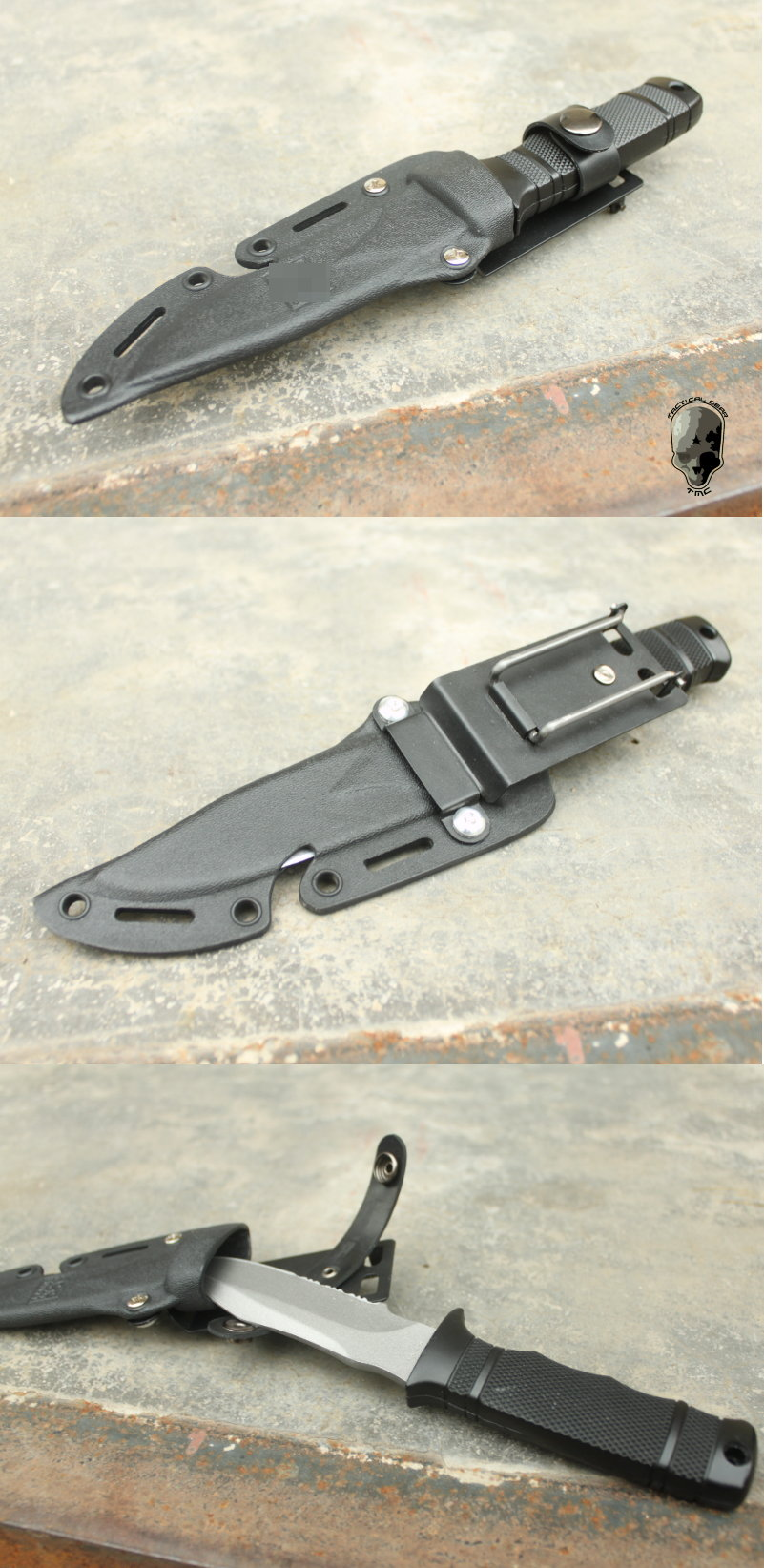 G TMC Dummy M37-K Seal Pup Knife ( BK ) TMC-M37-BK (couteau de combat abs) TMC%20Dummy%20M37-K%20Seal%20Pup%20Knife%20a