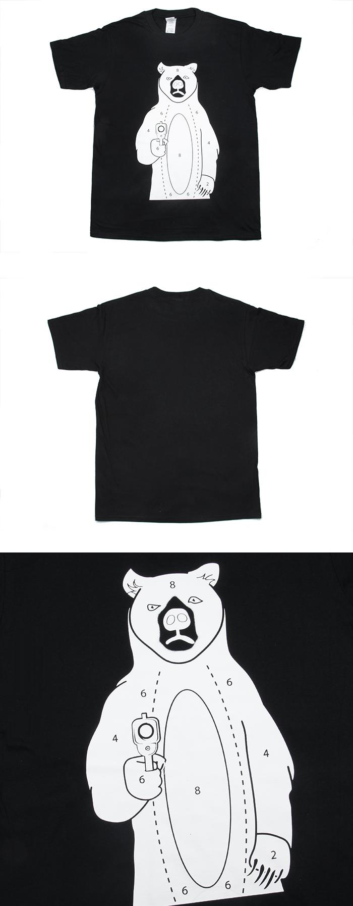 Black t shirt target - Tmc Gilden T Shirt Target Bear Bk