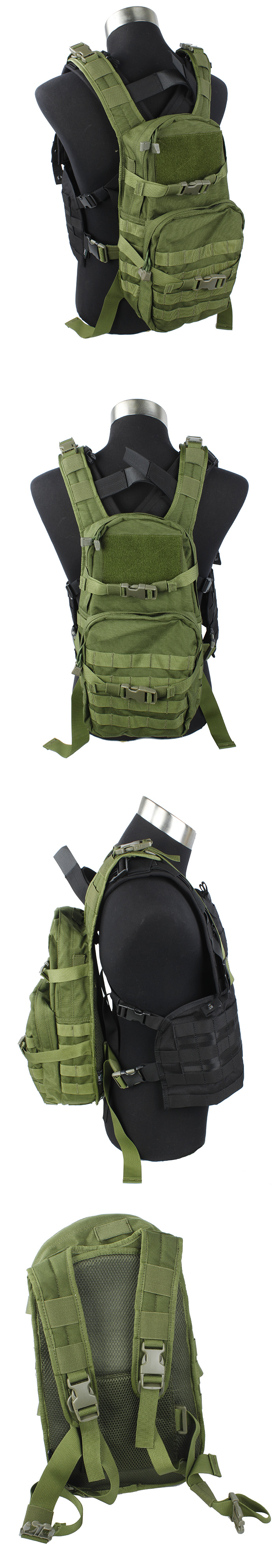 EbairSoft Airsoft parts & Tactical Gear - G TMC MOLLE Back ...