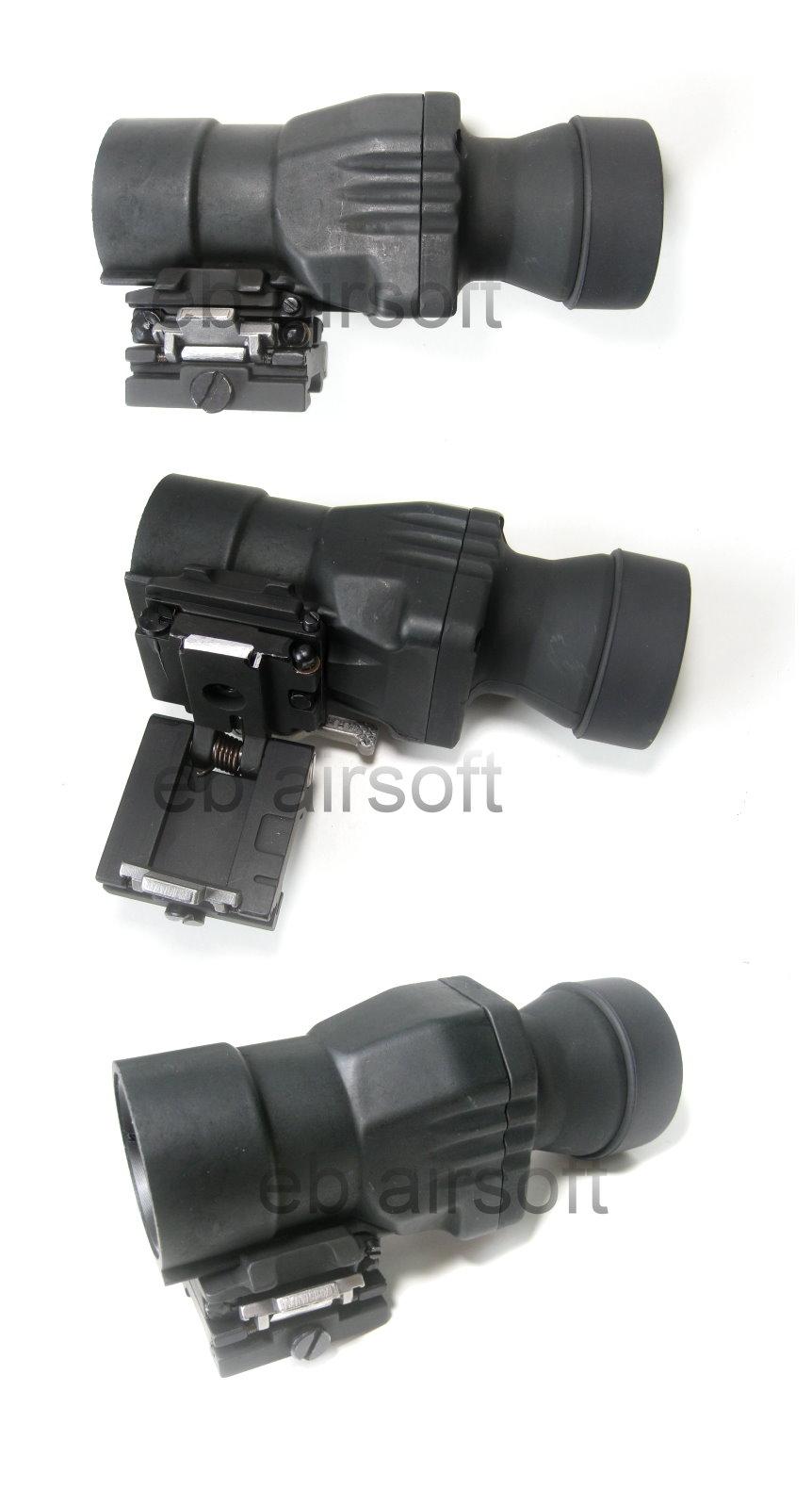 Black dress 4x magnifiers